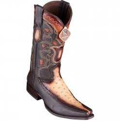 King Exotic Men's Ostrich...