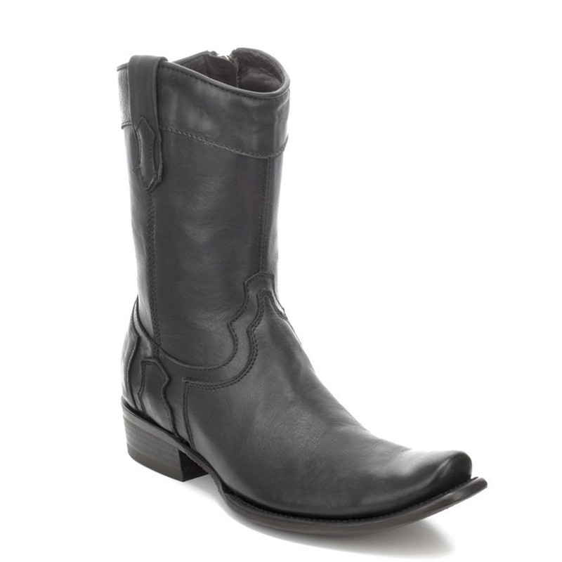 Cuadra Men's Black Boot -...