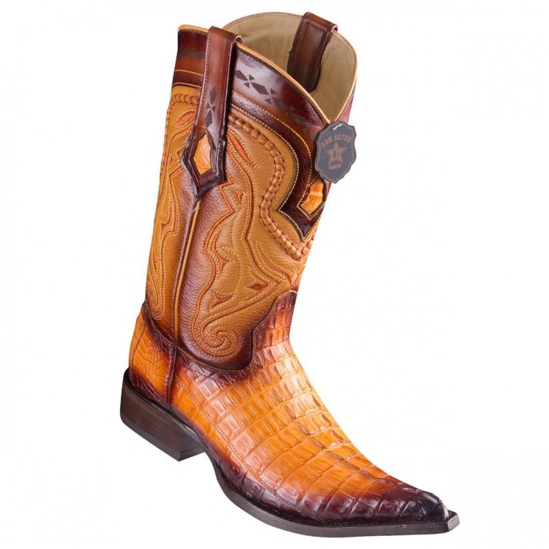 Los Altos Boots Caiman Tail...
