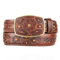 King Exotic Men's Western...