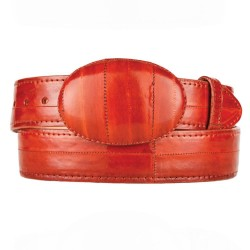 Los Altos Men's Cognac Eel...