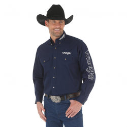 Wrangler Men's Logo Long...