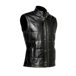 Cuadra Men's Leather Vest...