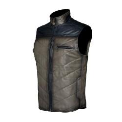 Cuadra Men's Lamb Vest Gray