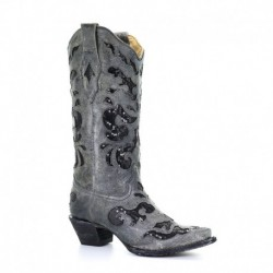 Corral Women's Sequin Inlay...