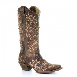 Corral Women's Lizard Teju...