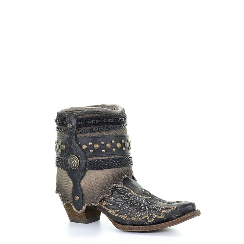 Corral Women's Black Cross...