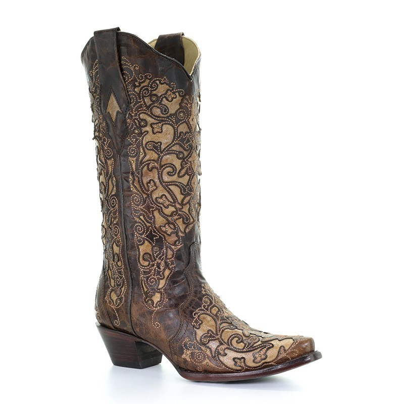 Corral Women's Brown Inlay...