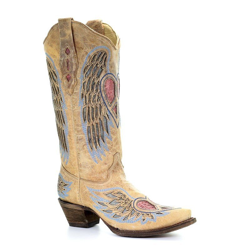 Corral Women's Antique Wing...