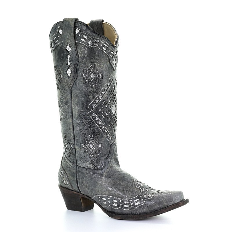 Corral Women's Black Snake...