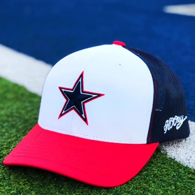 Hooey Dallas Cowboys WH/NV