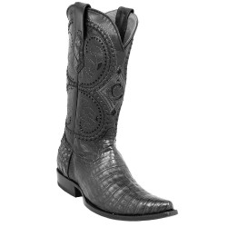 Cuadra Men's Black Caiman...