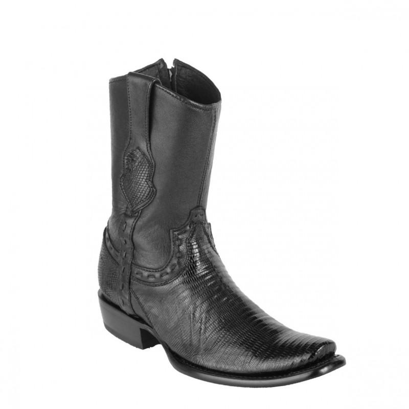 948f29bf159 King Exotic Men's Lizard Teju Dubai Toe Boots