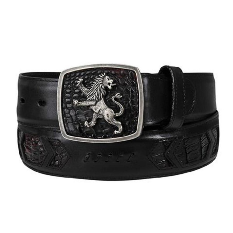 Cuadra Men's Lion Buckle...