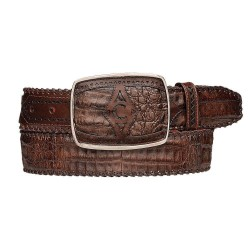 Cuadra Men's Caiman Belts