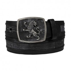 Cuadra Men's Lizard Belt