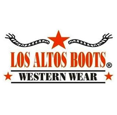 9d1d883e3ef Los Altos Men's Bull Shoulder Brown R-Toe Cowboy Boots
